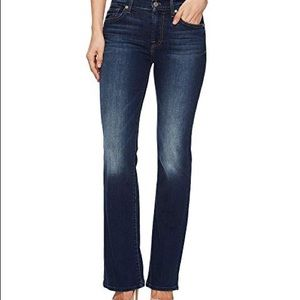 7 for all mankind women's bootcut jeans size 30
